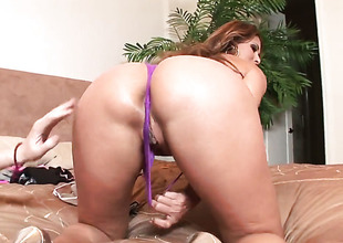 Monique Fuentes lets man drill her sweet mouth