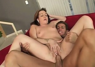 Chubby Coed Gets Her Fat Pussy Banged