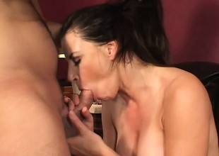 Beautiful Selena Steele gives some juvenile dick the love of a woman