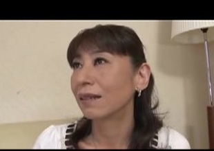 JApanese mama wants a little loving to get her pussy all wet