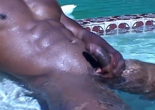 Bald, black and beautiful, is the only way to describe this horny hunk. JR Langdon interview.