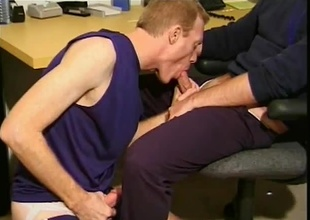 Darren Davis and Nathan Hamilton play around with each other in this scene before beginning to engulf on each others cocks. They take it to the next level when they begin to fuck each other...and then at that point all bets are off!