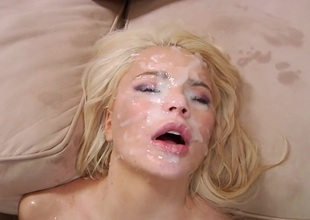 Alexis Ford takes on a multi dude blowbang