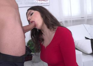 Sexy Italian slut bows over for a cock up the ass