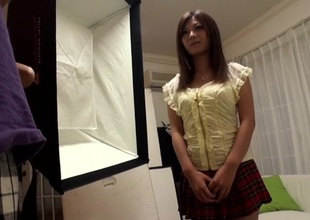 Hottest Japanese girl Haruki Sato in Horny stockings, big mambos JAV video