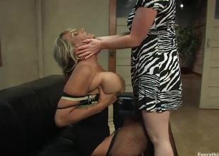 MILF porn legends Debi Diamond and Kylie Ireland first time gazoo fuck
