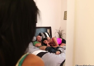 Anissa Kate & Breanne Benson & Johnny Sins in My Dad Shot Girlfriend