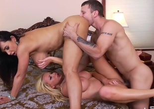 Lisa Ann & Nikki Benz & Mr. Pete in I Have a Wife