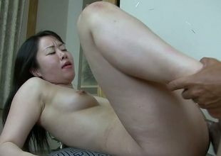 Full of emotions Japanese slut Nozomi Onuki gets hammered mish and doggy