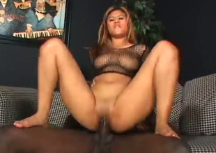 Horn-mad Asian nympho goes interracial and sucks tasty large black prick