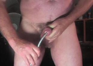 Males urethral sounding tige 10