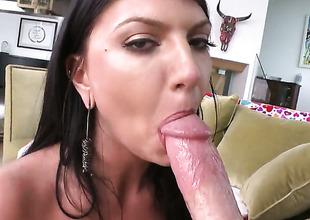 Senora Cassandra Nix gets her cornhole used full of chap meat