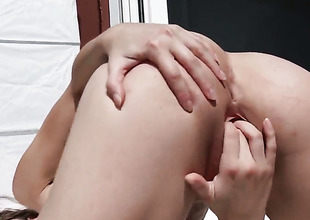 Passionate breathtaker Amirah Adara is too horny to stop masturbating