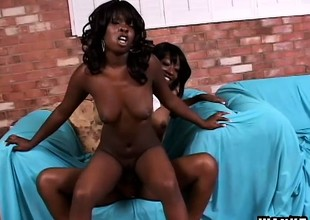 Black girls love it huge - especially when it comes to sex toys