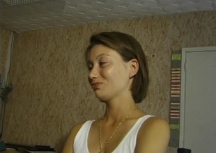 shy french brunette hair hair with a old boy-friend