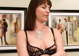 Exotic pornstar Dana Dearmond in horny large butt, brunette sex clip