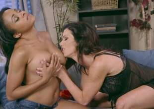 Anya Ivy & Lynn Vega in Up All Night - Brazzers