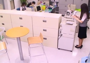 Incredible Japanese model Amateur in Hottest office, pair JAV video