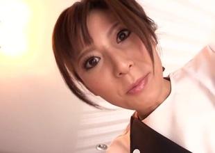 Exotic Japanese chick Yuna Shiina in Amazing large tits, wife JAV scene