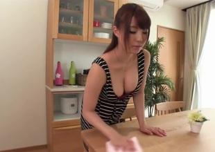 Hottest Japanese whore Yuka Tachibana in Crazy big tits, pair JAV scene