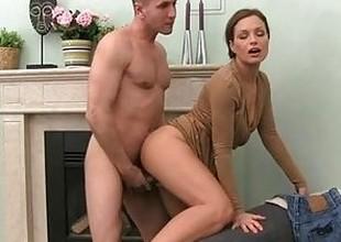 FemaleAgent. Milf cums all studs cock