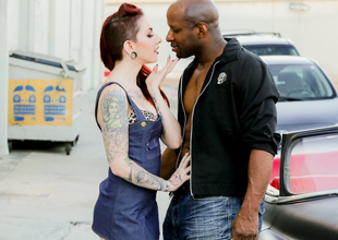 Prince Yahshua & Sheena Rose in Sheena Rose Cruises For Black Weenie Scene