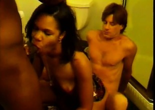Trixxie Star is in a hard pounding threesome with Dave Hardman and Tony Eveready