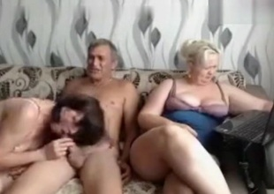 Aged Russian Group Sex