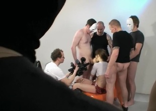 Duitse Bukkake film-Deusche Bukkake Film