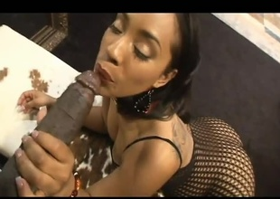 A nice black ass is all Lex needs to get hard. This chick Donna Red is pure milk chocolate and lots of it. Worthwhile pussy action and 11 inches of dark salami slide in and out of her pussy, She rides him like a cowboy and the rodeo has begun!!