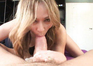 Nacho Vidal can't live without always wet warm fuck hole of Sara May