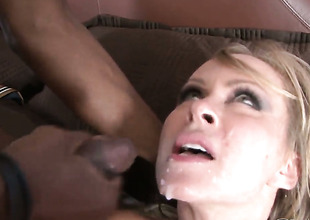 Sean Michaels makes his rock hard worm disappear in amazingly sexy Anjanette Astonas love hole