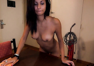 With bubbly butt cant wait to take stylish guys erect rod in her hands