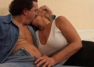 European sex movie with handjob and anal fun