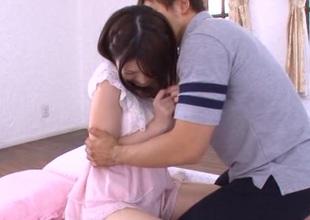 Naughty Asian teen bonks with lewd boyfriend