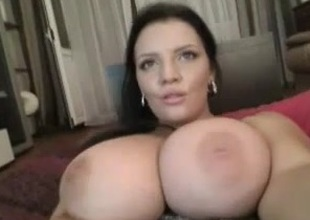 Large Moist Natural Boobs