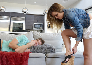 Dillion Harper in Step-Sister Curious About Step-Brother's Dong - SpyFam