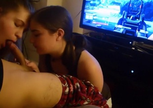 Fabulous Homemade movie with Blowjob, Threesome scenes