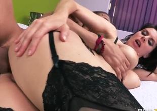 Sexy mom Dallas will fondle Xander Corvus endlessly