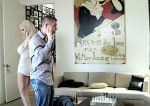 Kayden Kross & Mick Blue  in My Boss' Daughter, Scene 1