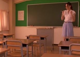 Fabulous Japanese whore Rola Takizawa in Crazy gangbang, blowjob JAV movie