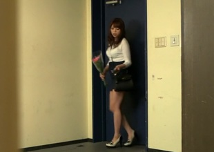 Hottest Japanese gal in Amazing HD, Wife JAV movie