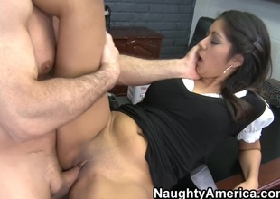 Ruby Rayes & John Strong in Nasty Office