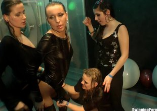 Sexy butt European actresses having their mouths and cookies fucked