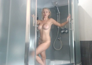 Cum shower from a real GF