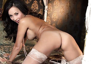 Katsuni with juicy breasts plays with her dripping wet snatch as that babe has fun alone on cam