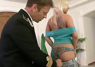 Rocco Siffredi gets enticed into fucking by Adorable tramp Nataly Gold and sticks his toolin her bottom