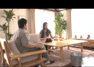 Bushy Frustrated Japanese Mother In Law Wants Sex