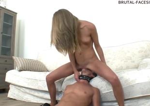 Brutal-FaceSitting Video: Abby